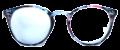 Clear Eye Glass Frame- Code- E9 (#045)