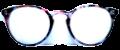 Clear Eye Glass Frame- Code- E9 (#046)