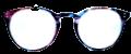 Clear Eye Glass Frame- Code- E9 (#047)