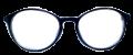 Clear Eye Glass Frame- Code- E3 (#018)
