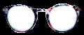 Clear Eye Glass Frame- Code- E10 (#052)