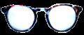 Clear Eye Glass Frame- Code- E10 (#051)