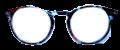 Clear Eye Glass Frame- Code- E10 (#054)