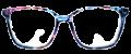 Clear Eye Glass Frame- Code- E4 (#023)