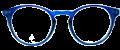 Clear Eye Glass Frame- Code- E10 (#055)