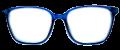 Clear Eye Glass Frame- Code- E4 (#024)
