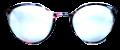 Clear Eye Glass Frame- Code- E10 (#057)