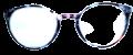 Clear Eye Glass Frame- Code- E11 (#059)