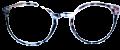 Clear Eye Glass Frame- Code- E11 (#060)