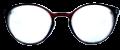 Clear Eye Glass Frame- Code- E11 (#062)