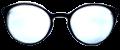 Clear Eye Glass Frame- Code- E11 (#063)