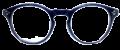Clear Eye Glass Frame- Code- E8 (#042)