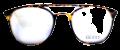 Clear Eye Glass Frame- Code- E6 (#029)