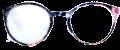 Clear Eye Glass Frame- Code- E11 (#058)