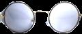 Clear Eye Glass Frame- Code- E26 (#108)