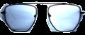 Clear Eye Glass Frame- Code- E25 (#101)