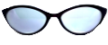 Clear Eye Glass Frame- Code- E22 (#095)