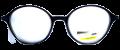 Clear Eye Glass Frame- Code- E21 (#093)
