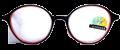 Clear Eye Glass Frame- Code- E21 (#092)