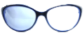 Clear Eye Glass Frame- Code- E20 (#090)