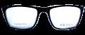 Clear Eye Glass Frame- Code- E19 (#086)