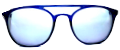 Clear Eye Glass Frame- Code- E6 (#030)