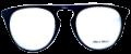 Clear Eye Glass Frame- Code- E7 (#036)