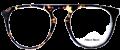 Clear Eye Glass Frame- Code- E7 (#035)