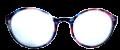 Clear Eye Glass Frame- Code- E1 (#001)