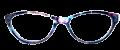 Clear Eye Glass Frame- Code- E13 (#065)