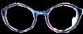 Clear Eye Glass Frame- Code- E1 (#004)