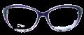 Clear Eye Glass Frame- Code- E14 (#068)