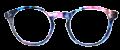 Clear Eye Glass Frame- Code- E8 (#037)