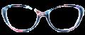 Clear Eye Glass Frame- Code- E14 (#070)