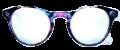 Clear Eye Glass Frame- Code- E8 (#040)