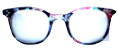 Clear Eye Glass Frame- Code- E2 (#009)