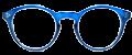 Clear Eye Glass Frame- Code- E8 (#043)
