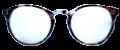 Clear Eye Glass Frame- Code- E9 (#044)