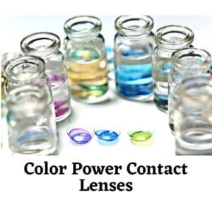 Color Power Contact Lenses